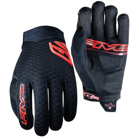 FIVE XR Air Rękawiczki, black/red fluo